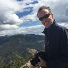 Me - Andy Doyle in Rocky Mountain National Park